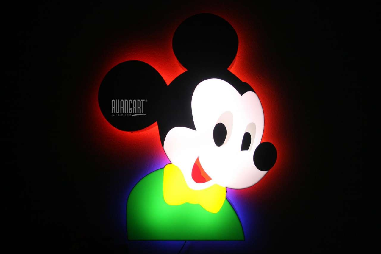 Marco Lodola - Mickey Mouse