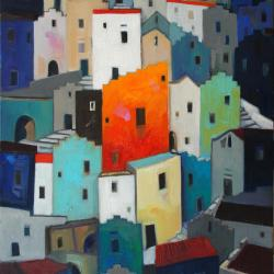 Michele Volpicella - What does a yellow House among many blue houses