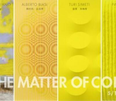 Natale Addamiano, Alberto Biasi, Pino Pinelli, Turi Simeti - In the Matter of Color